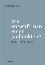 afo: Wie entwirft man einen Architekten?