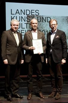 Erwin Wurm, Landeskulturpreis 2015