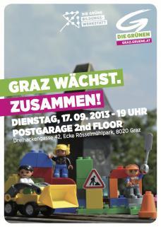 Graz wächst zusammen_Die Grünen