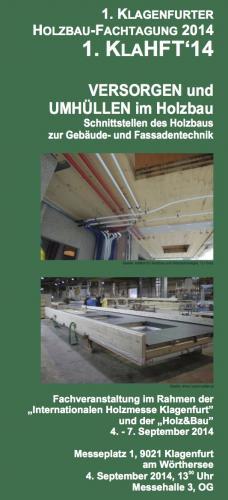 Holzbaufachtagung 2014