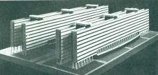 Koldom, Projekt für ein Kollektivhaus, Josef Havlíček und Karel Honzik, Prag 1929/30