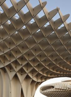 Metropol Parasol (Detail), Sevilla, 2004-2011,  Foto: Fernando Alda