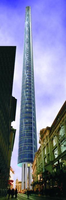 tower graz hauptplatz monsanto