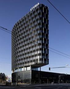 Häuser schaun PLUS: Styria Media Center Graz