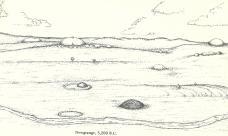 Raimund Abraham, Newgrange Lage