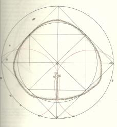 Raimund Abraham, Newgrange, Geometrie