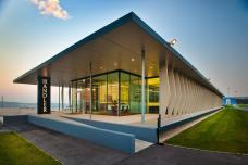 Bürogebäude Firma Handlerbau, © Art-Handler