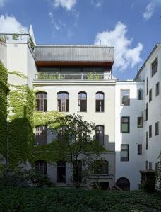Dachaufbau Flachgasse  Dietrich | Untertrifaller Architekten