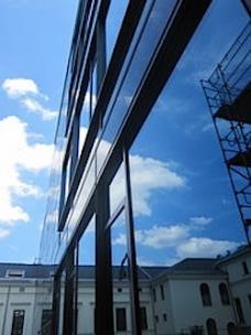Häuser schaun: UNI Graz, Sanierunmg Chemiegebäude
