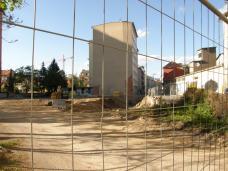grundstück von Kreuzung Idlhofgasse gesehen