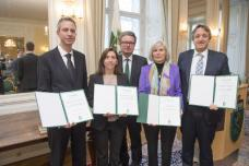 Forschungspreise des Landes Steiermark 2015