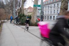 graz per rad – Kreuzung Zinzendorfgasse