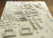 Smart City Graz – Waagner-Biro, Baufeld Mitte/Nord, Modell