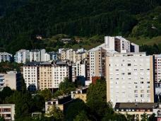 Velenje-Stadtblick