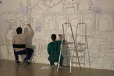 studio ASYNCHROME bei der Arbeit im HDA