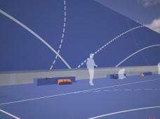 BLUE BOX Ballsporthalle HIB Liebenaul