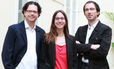 Roland Gruber, Caren Ohrhallinger, Peter Nageler Foto: (c) Katharina Rossboth