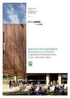 Publikation Nachhaltig Bauen und sanieren
