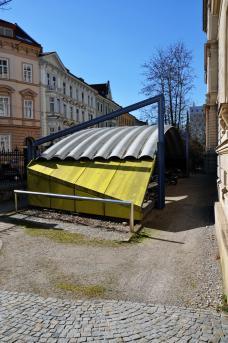 Peter Hellweger Fahrradüberdachung TU Graz