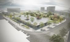 rendering bauhaus museum dessau