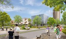 Smart City Graz – Waagner-Biro, Baufeld Mitte/Nord, Rendering