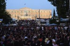 Platzbesetzung in Athen 2011