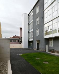 Das renovierte Kammergebäude der ZiviltechnikerInnen in Graz, Schönaugasse 7