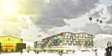 Smart City Graz – Waagner-Biro, Baufeld Süd, Rendering