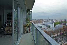 Tour Bois le Prêtre _ Blick vom Balkon © Philippe Ruault