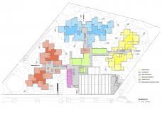 Bildungscampus Wien – Sonnwendviertel, Funktionsverteilung EG