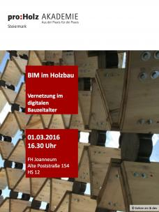 BIM im Holzbau. Vernetzung im digitalen Bauzeitalter