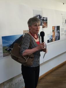 Ausstellungseröffnung mit Lucia Degonda