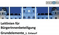 Stadt Graz: Leitlinien für BürgerInnenbeteiligung