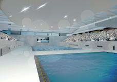 Olympic Aquatics Centre Tokyo schwimmhalle