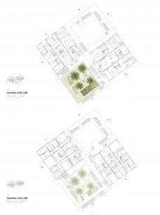 Wohn:typ:en im urbanen Raum _ grundriss dachgartenwohnungen