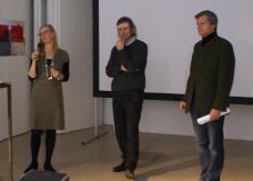 Im Gespräch: (v.li.) Martina Decrinis (Initiative Obdach), Andreas Lichtblau (i_w),Peter Köstenberger (Bürgermeister von Obdach)