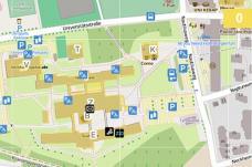 Alpen Adria Universität Klagenfurt _ Lageplan