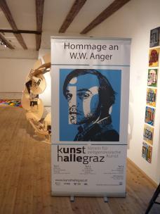 Hommage an W. W. Anger in der Kunsthalle Graz