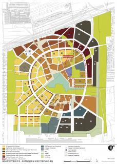 Wien Aspern Seestadt Lageplan Baugruppen