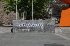 """Vorbereitungen zur Installation """"Vzpostavitev"""" in Maribor. Fotoserie © zita oberwalder"""