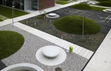 Bevk Perovic Arhitekti: Sozialer Wohnbau, Polje, Ljubljana, 2003/2004. Architekten: Matija Bevk, Vasa J. Perovic, Mitja Zorc, Davorin Pocivasek. Foto: M. Paternoster