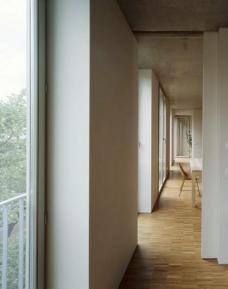A52, Anklamerstraße 52, Berlin-Mitte, Architekten roedig.schop Berlin, Gartenseite, Innenräume, Foto: roedig + schop