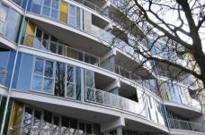 Beginenhof Berlin-Kreuzberg Wohnungen mit Terrassen und Loggien, Planung: PPL-Barbara Brankenhoff, Foto: karin wallmüller