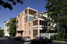 Projekt Gartenhaus Methfesselstraße 9 Berlin-Kreuzberg, Architekten siegl und albert Berlin ::::: Ansicht Straßenseite, Foto: Bernhardt Link
