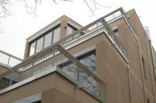 Gartenhaus Methfesselstraße 9 Berlin-Kreuzberg, Architekten siegl und albert Berlin. Ausschnitt Gartenseite, Foto: Bernhardt Link