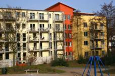 Unzerstrasse Hamburg, Plan-R-Architekten Hamburg.Gartenseite, Foto: Plan-R