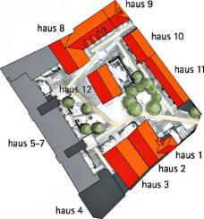 Projekt: Aegidienhof Lübeck, Meyer-Steffens architekten mit Architektin Sigrid Morawe-Krüger ::::: Lageplan steffens-meyer-franck architekten