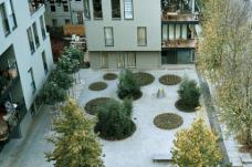 Projekt RuSc, Berlin, zanderroth architekten Berlin, Treffpunkt Platz, Foto: Andrea Kroth.