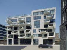 Baufeld 10 HafenCity Hamburg, LOVE architecture and urbanism ZT GmbH Graz, Ansicht vom Kaiserkai, Foto: Anke Müllerklein.