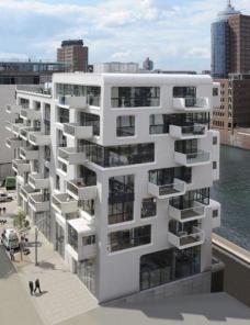 Baufeld 10 HafenCity Hamburg, LOVE architecture and urbanism ZT GmbH Graz, Foto: Anke Müllerklein.